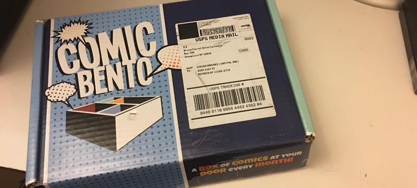 Comic Bento NovembersUnboxing