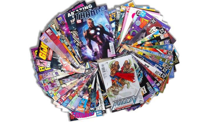 Groupon Comic Book Bundle Unboxing