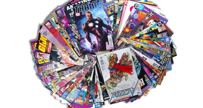 Groupon Comic Book Bundle Unboxing