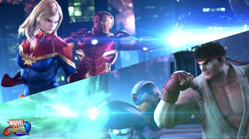 The story trailer for Marvel vs Capcom Infinite
