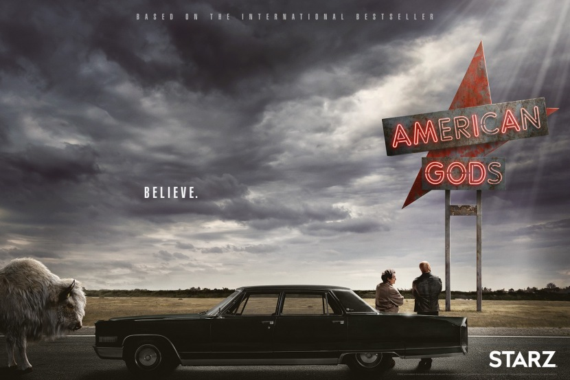 American Gods is daring and interesting.