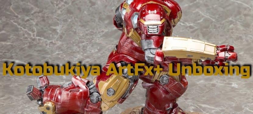 Kotobukiya ArtFx+ Hulkbuster Unboxing