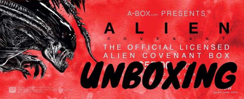 A-Box Alien Covenant Unboxing