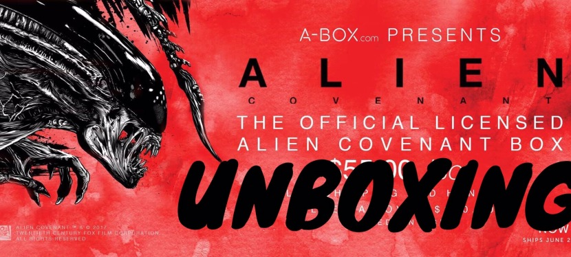 A-Box Alien Covenant Unboxing
