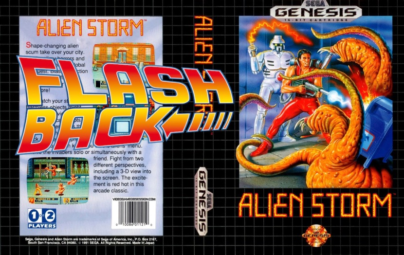 Alien Storm: A Retro Review.